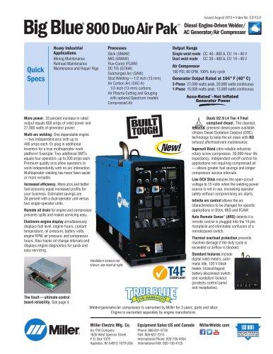 Big Blue® 800 Duo Air Pak
