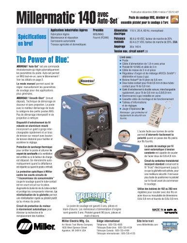 Millermatic® 140avec Auto-Set