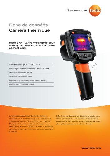 testo 870 - Caméra thermique