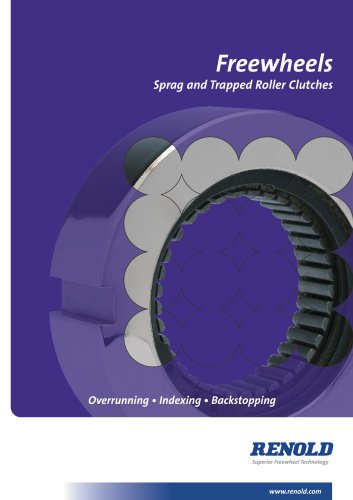 Freewheels - Sprag & Trapped Roller Clutches