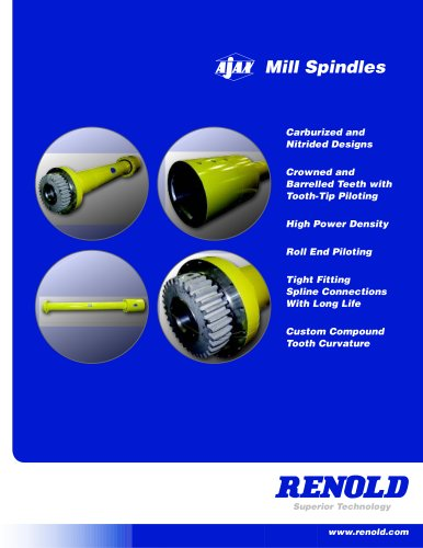 Mill Spindles