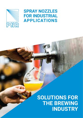 BROCHURE - SOLUTIONS FOR THE BREWING INDUSTRY