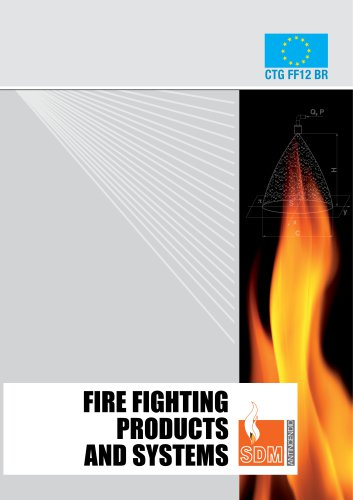 CATALOGUE - FIRE FIGHTING PRODUCTS AND SYSTEMS