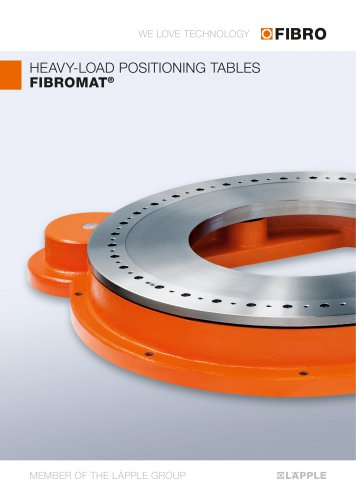 FIBROMAT  A powerhouse with an extremely large centre hole & very flat design at an optimum price