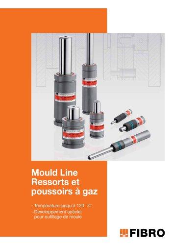Mould Line Ressorts et poussoirs à gaz pour outillage de moule