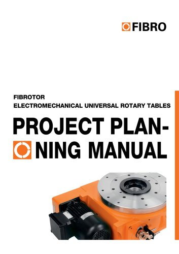 Projection Planning Manual