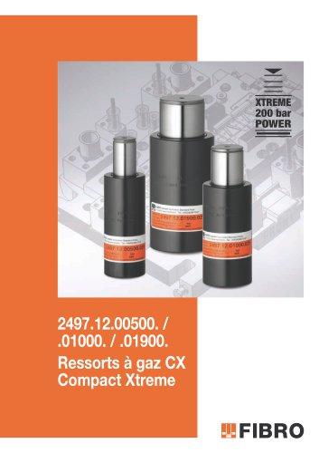 Ressort à gaz CX, Compact Xtreme