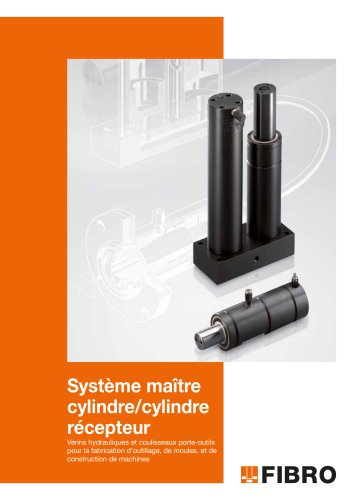 Système maître cylindre/ cylindre récepteur