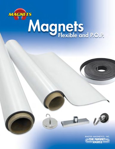 Magnets for Flexible and P.O.P. Applications