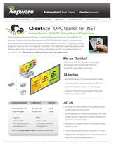 ClientAce ™ OPC toolkit for .NET