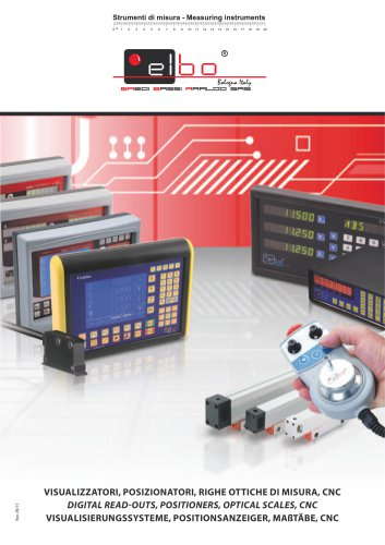 Digital read-outs, Positioners, Optical scales, CNC