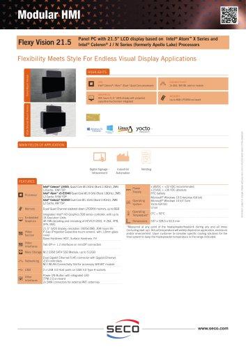 Flexy Vision 21.5 Datasheet