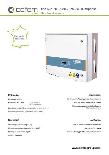Trio-Sun 18-20-25 kW