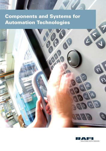 Components and Systems for Automation Technologies