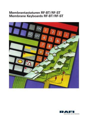Membrane Keyboards RF-BT / RF-ST
