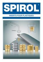 Inserts Pour Plastiques PH series/HP series/HM series/HA series