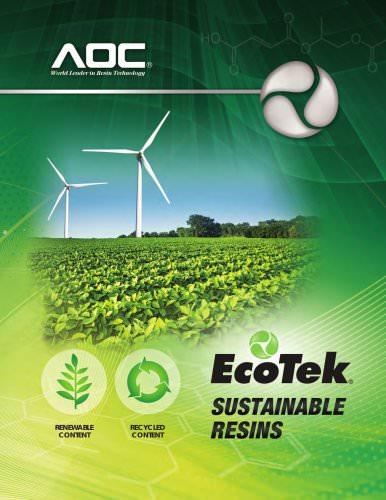 EcoTek® Sustainable Resins