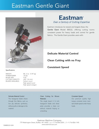 Eastman Gentle Giant