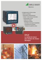 APLUS La centrale de mesure pour l'analyse des réseaux électriques
