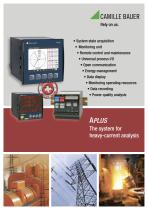 APLUS - The system for heavy-current analysis