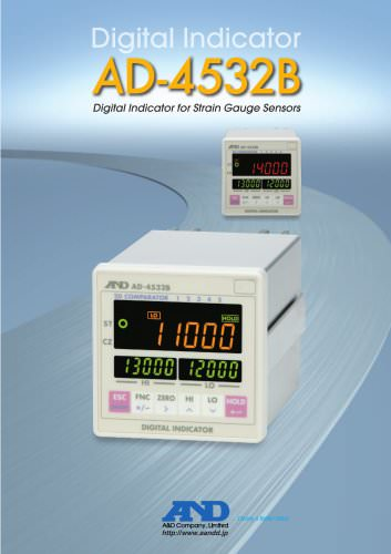 Digital Indicator/AD-4532B