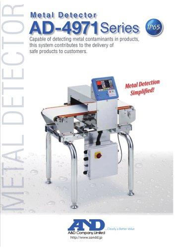 Metal Detector AD-4971 Series