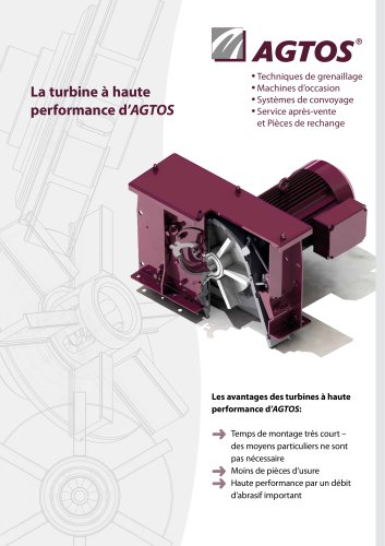 Turbine à haute performance 3.6