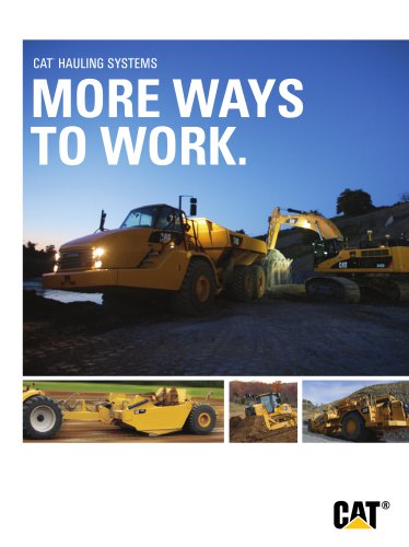 Cat® Hauling Systems - More Ways to Work
