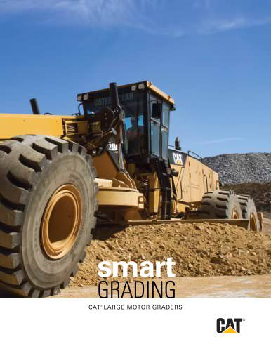 Cat® Mining Motor Grader: Smart Grading