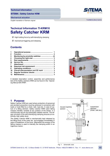 KRM Safety Catcher