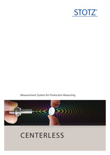 Measuring Systems - Centerless