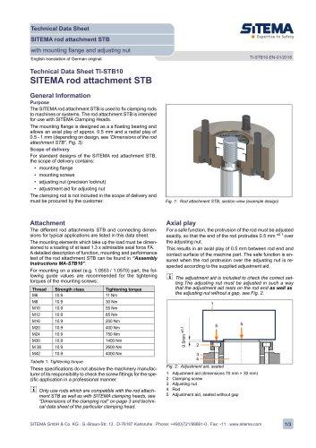 STB10 Rod Attachment STB