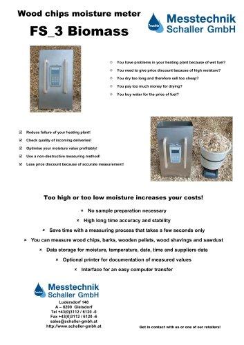 FS_3 Biomass moisture meter