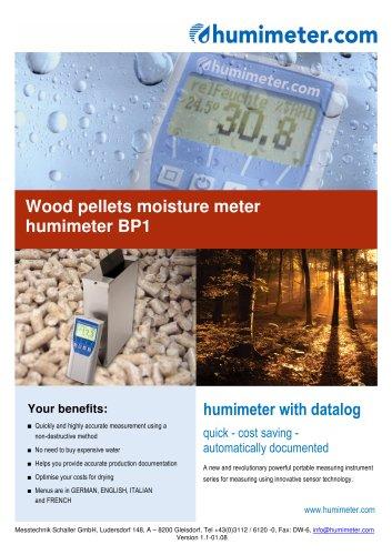 humimeter BP1 Wood pellets moisture meter