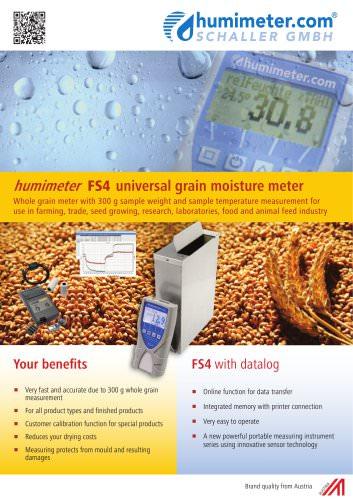 humimeter FS4 Grain special fruit moisture meter