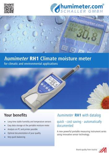 humimeter RH1 Climate moisture meter