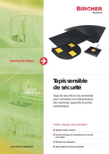 Brochure Tapis de sécurité