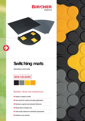 New colors for safety mats