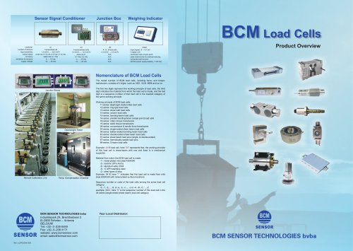 BCM Load Cells