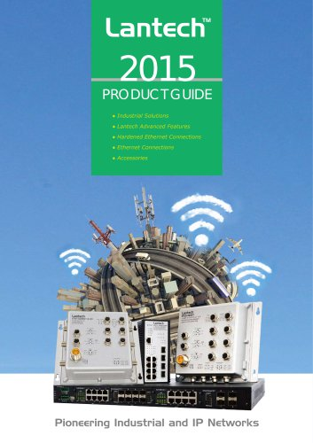 Lantech Product Guide 2015