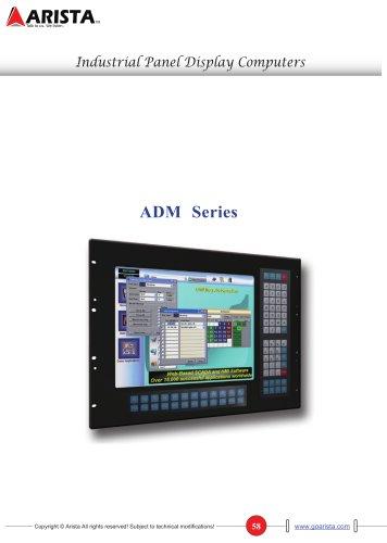 ADM Series - Industrial Panel / Rack Mount LCD Display
