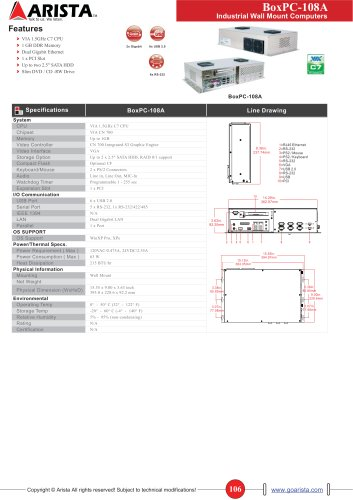 Industrial BoxPC Series