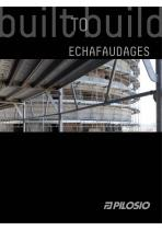 Catalogue ÉCHAFAUDAGES