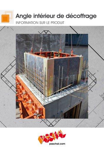 Angle intérieur de décoffrage LOGO.3