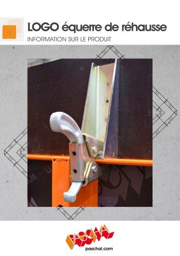 LOGO.3 Equerre de rehausse 25 cm