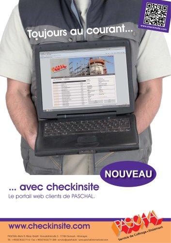 Portail web clients checkinsite