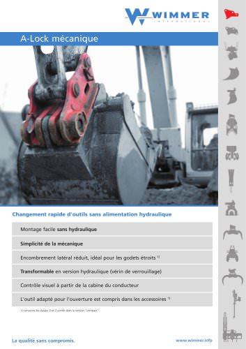 A-Lock mécanique