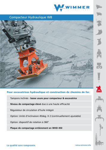 Compacteur Hydraulique WB