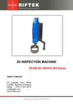 3D Inspection Machine, Manual