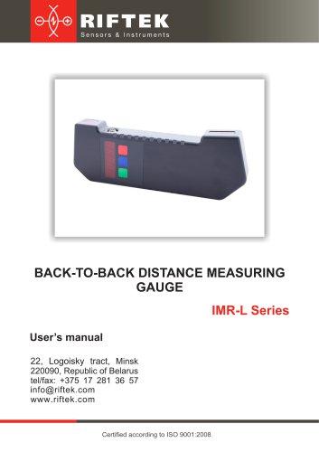 Back-to-back distance measuring gauge, IMR-L Series